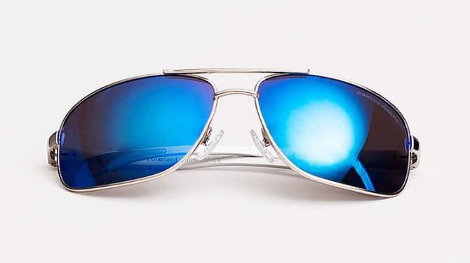 Okulary Polaryzacyjne Aviatory Niskie Blue 5C20